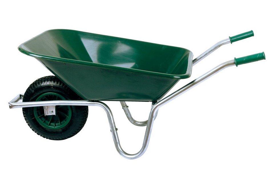 Schubkarre »80 Liter« in grün