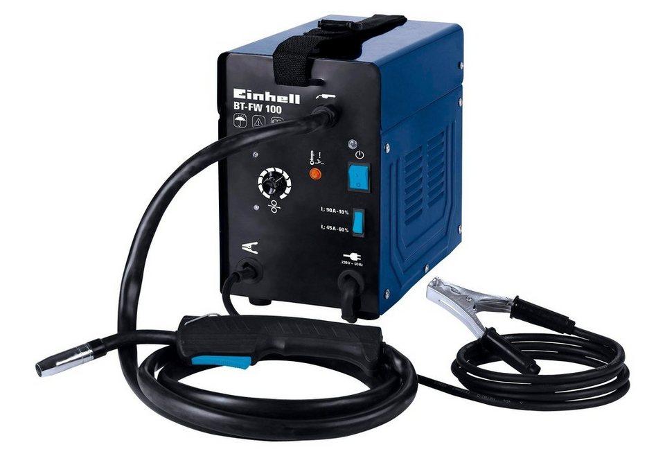 Fülldrahtschweißgerät »BT-FW 100« in blau