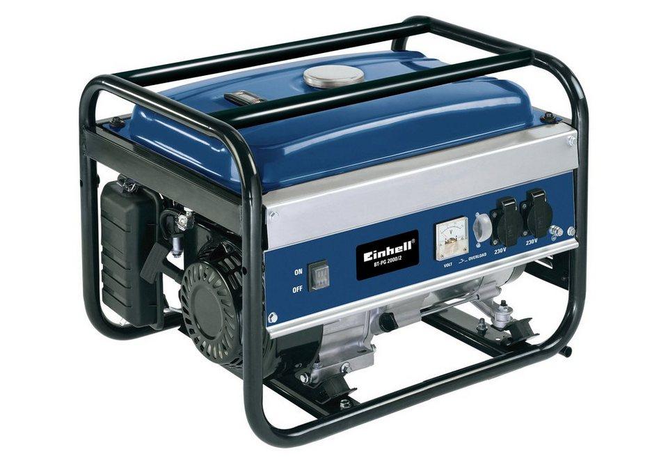 Stromerzeuger »BT-PG 2000/2« in blau