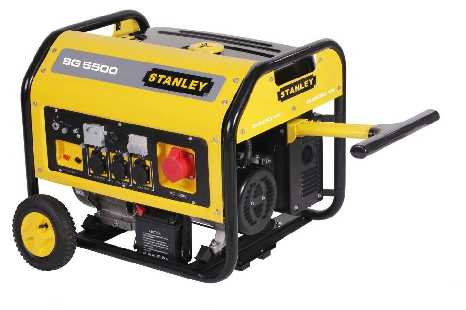 Stanley Stromerzeuger »SG 5500« in gelb