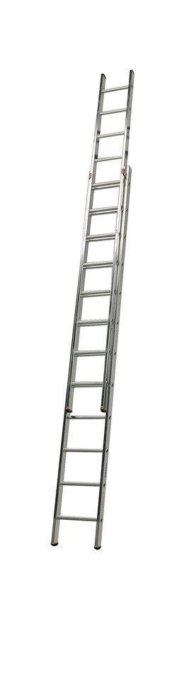 KRAUSE Schiebeleiter »Fabilo«, zweiteilig | Baumarkt > Leitern und Treppen > Schiebeleiter | KRAUSE