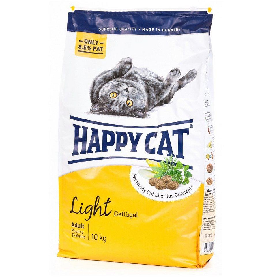 Katzentrockenfutter »Adult Light«, 10 kg in braun