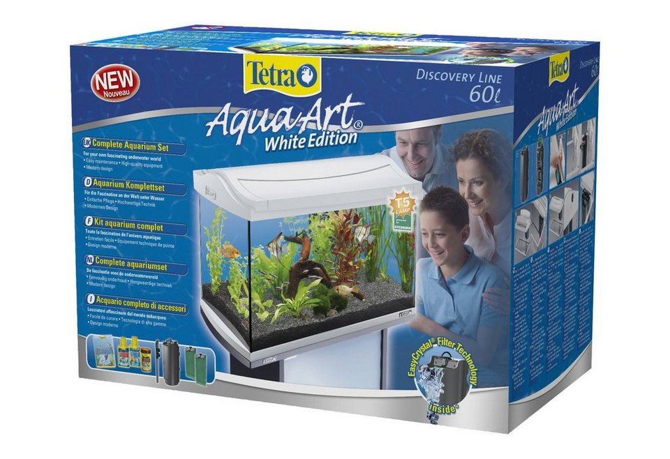 Aquarium »AquaArt II Tropical« 60 l, weiß in weiß