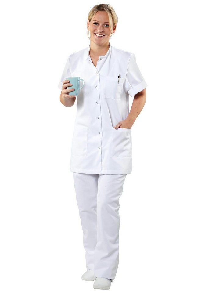 Damen-Pflegehose in weiß