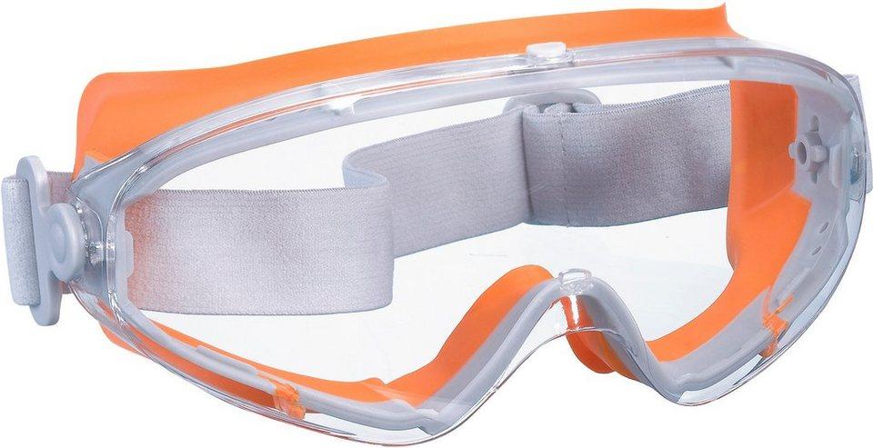 Schutzbrille (2 Stück) in orange