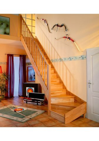 DOLLE Kompaktiški laiptai »Paris« Buche su G...