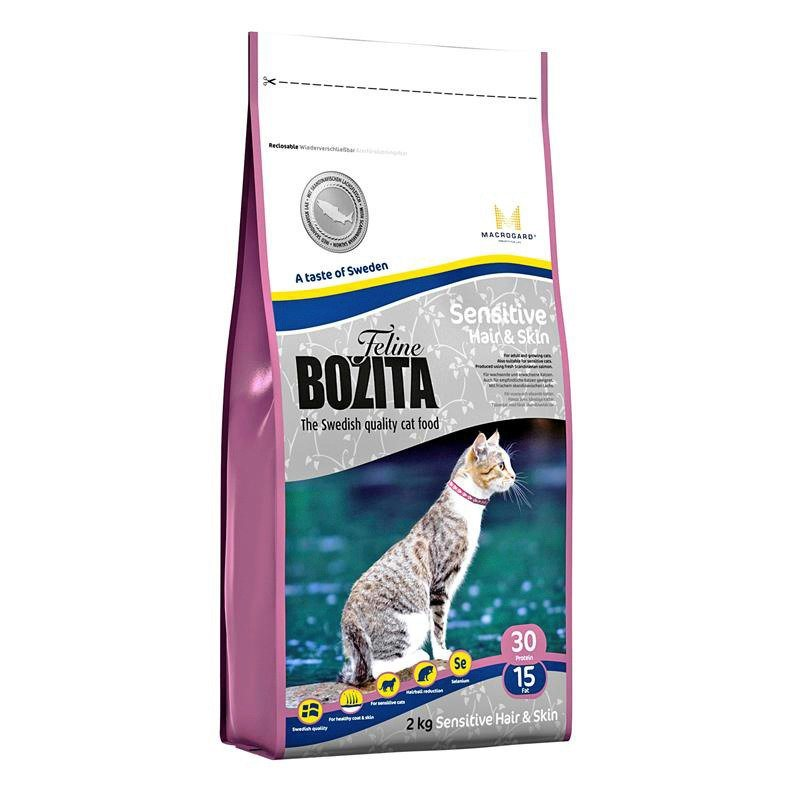 Katzentrockenfutter »Feline Funktion™ Sensitive Hair & Skin«, 10 kg in braun