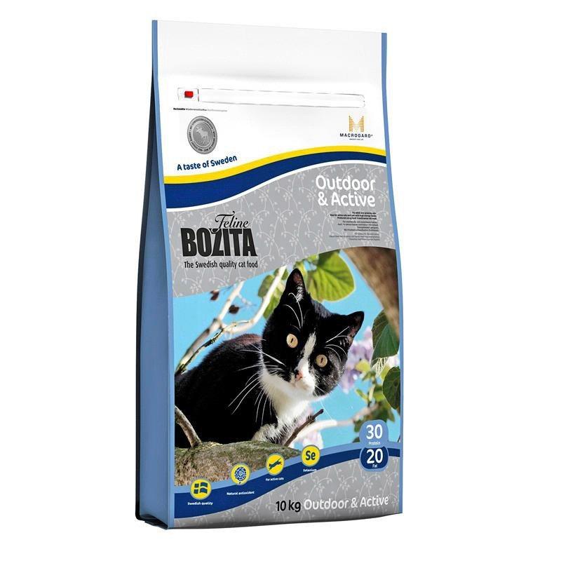 Bozita Katzentrockenfutter »Feline Funktion™ Outdoor  und  Active«, 10 kg - Preisvergleich