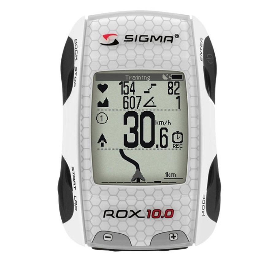 Sigma Sport Fahrradcomputer »Rox 10 GPS Fahrradcomputer SET mit Sender«