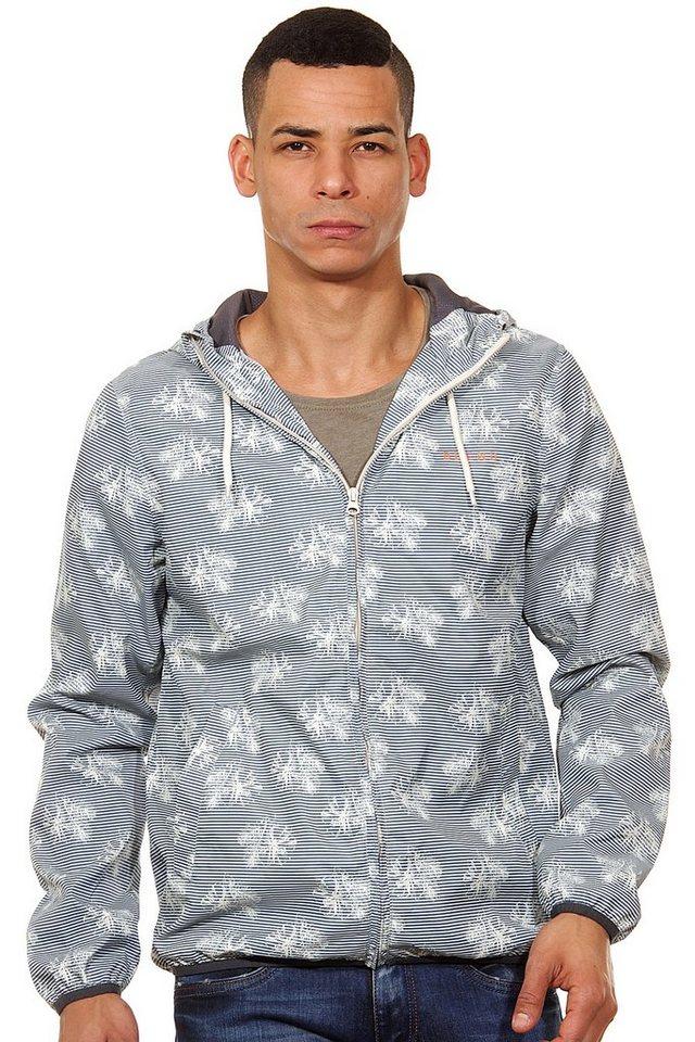 BLEND Jacke mit Kapuze slim fit in blau