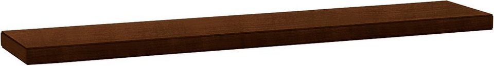 SELVA Wandbord »Sophia« Modell 8218 in nussbaumfarbig dunkel