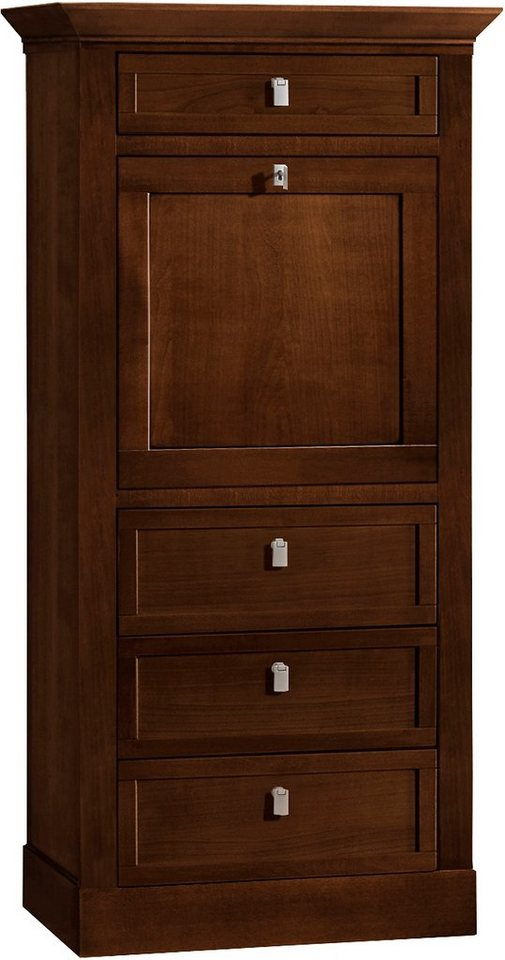 SELVA Sekretär »Sophia« Modell 6405, Breite 68 cm in nussbaumfarbig dunkel