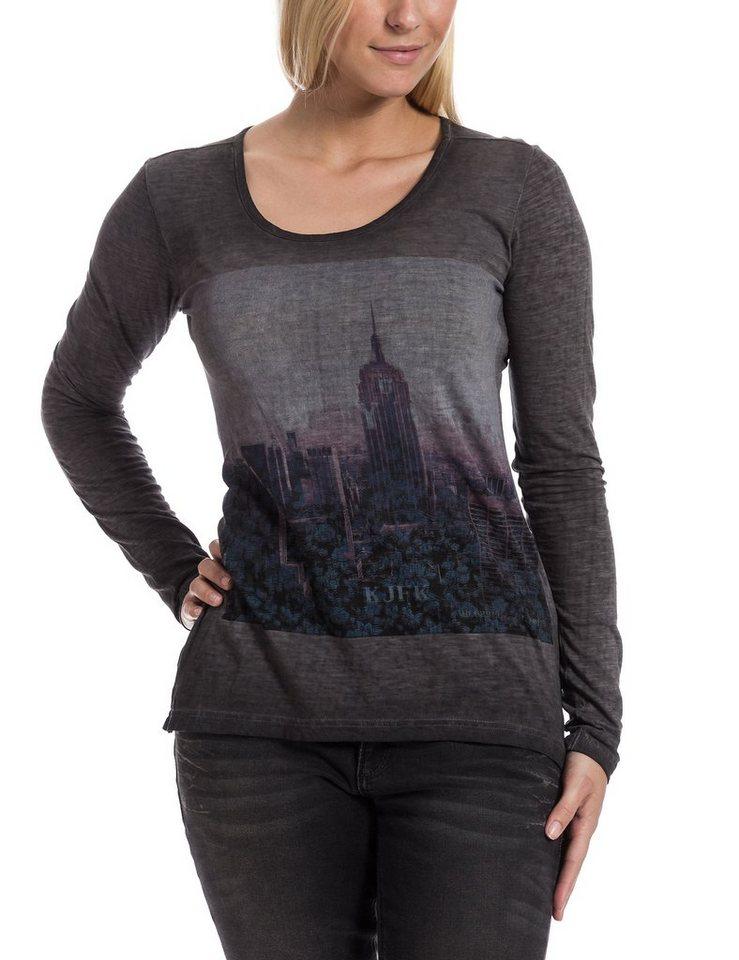 TIMEZONE Shirts (mit Arm) »Longsleeve« in washed black