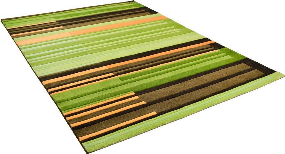 Teppich, Arte Espina, »Joy«, handgetuftet in grün-multi