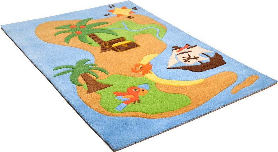 Teppich, Arte Espina, »Joy 4«, handgetuftet in multicolour