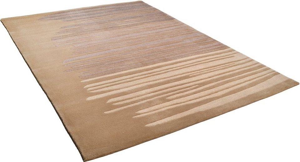 Teppich, Arte Espina, »Spirit Frisee«, handgetuftet in braun