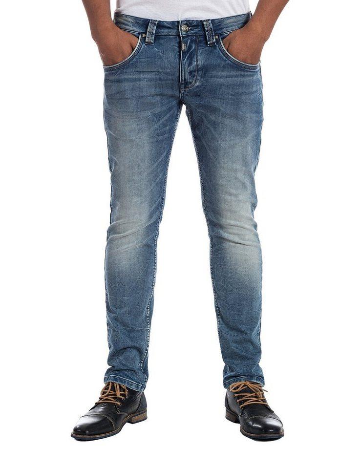 "TIMEZONE Jeans »EdoTZ ""3739 blue sky wash""« in blue sky wash"