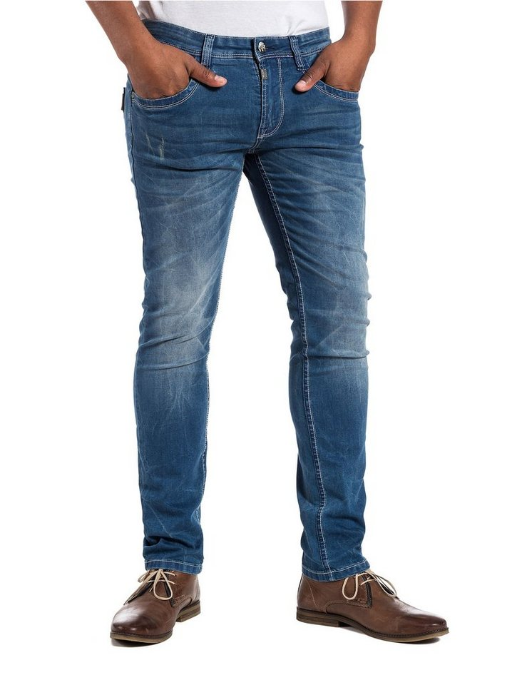 "TIMEZONE Jeans »CostelloTZ ""3290 atlantic blue wash""« in atlantic blue wash"