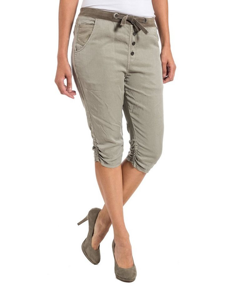 TIMEZONE Hosen kurz »LouTZ 3/4 pants« in nature beige