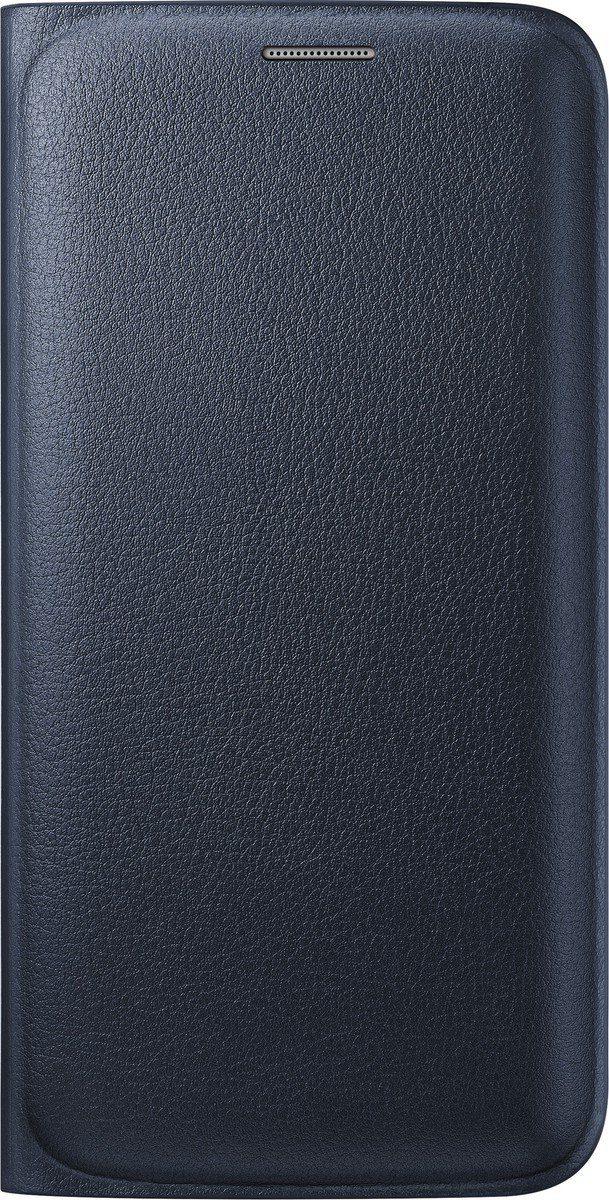 Samsung Handytasche »Flip Wallet PU EF-WG925 für S6 Edge, Schwarz«