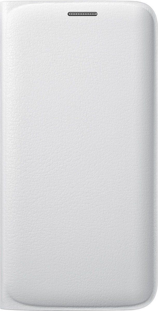 Samsung Handytasche »Flip Wallet PU EF-WG925 für S6 Edge, Weiß«