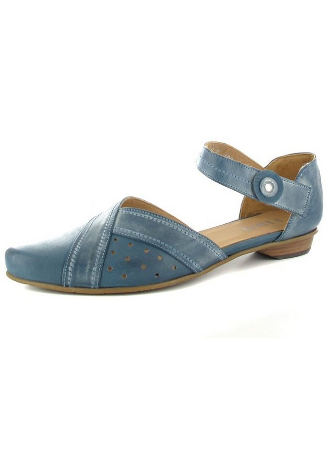 Fidji Ballerinas in Blau