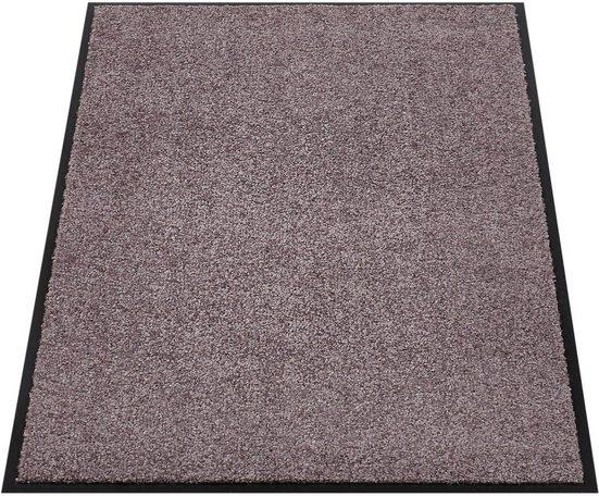 Fußmatte »Super Wash & Clean«, Andiamo, rechteckig, Höhe 7 mm, Fussabstreifer, Fussabtreter, Schmutzfangläufer, Schmutzfangmatte, Schmutzfangteppich, Schmutzmatte, Türmatte, Türvorleger, In- und Outdoor geeignet, waschbar