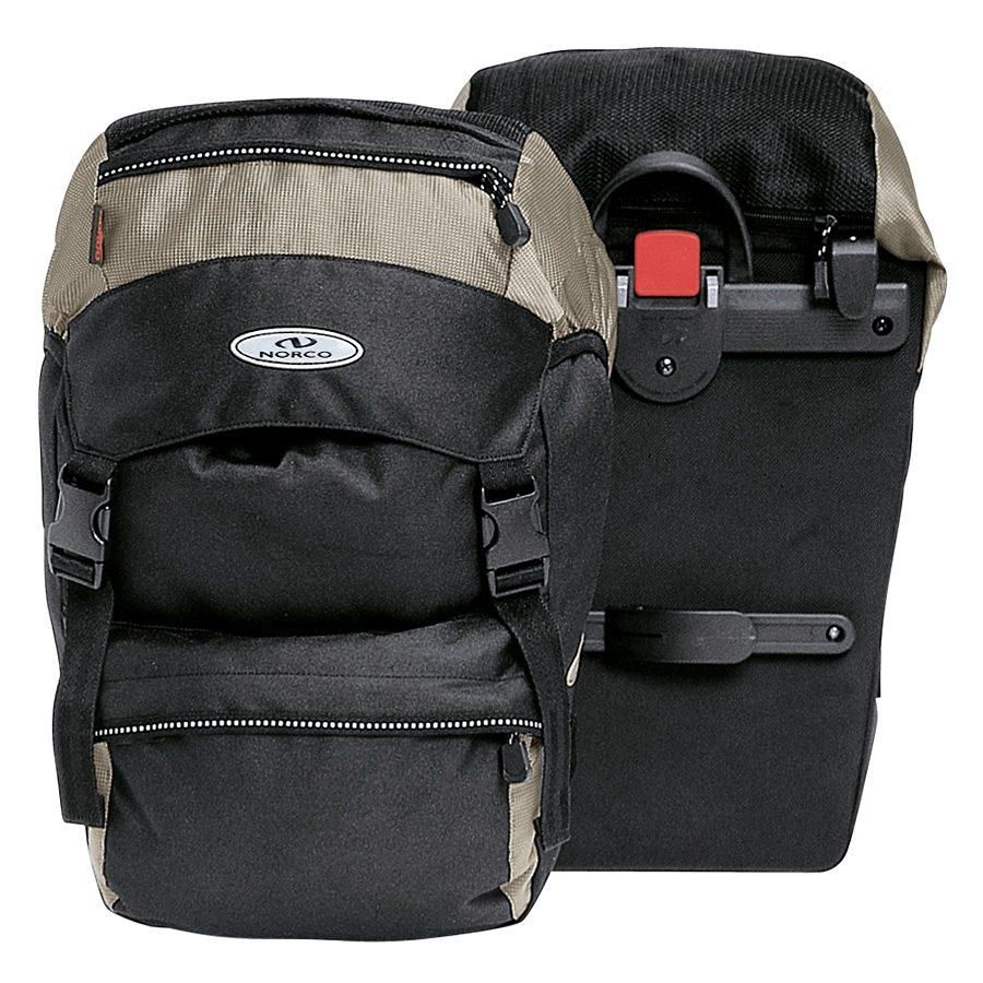 Norco Gepäckträgertasche »Nevada Universaltasche schwarz/silber«