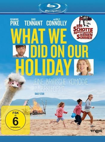 Blu-ray »What We Did on Our Holiday«