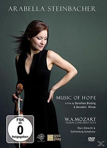 DVD »Arabella Steinbacher: Music Of Hope«