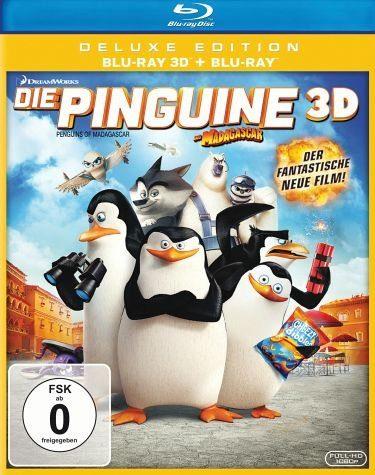 Blu-ray »Die Pinguine aus Madagascar (Blu-ray 3D, +...«