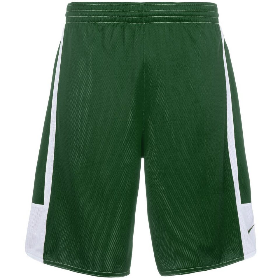 NIKE Stock League Reversible Basketballshort Herren in dunkelgrün / weiß