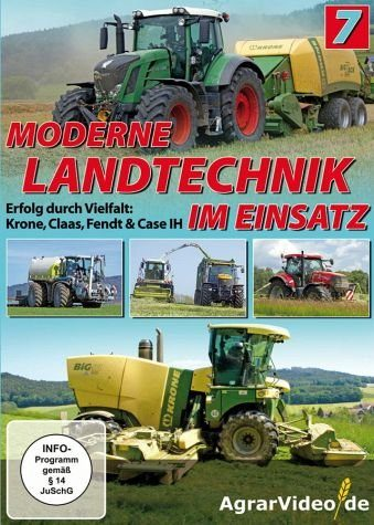 DVD »Moderne Landtechnik im Einsatz, Teil 7«