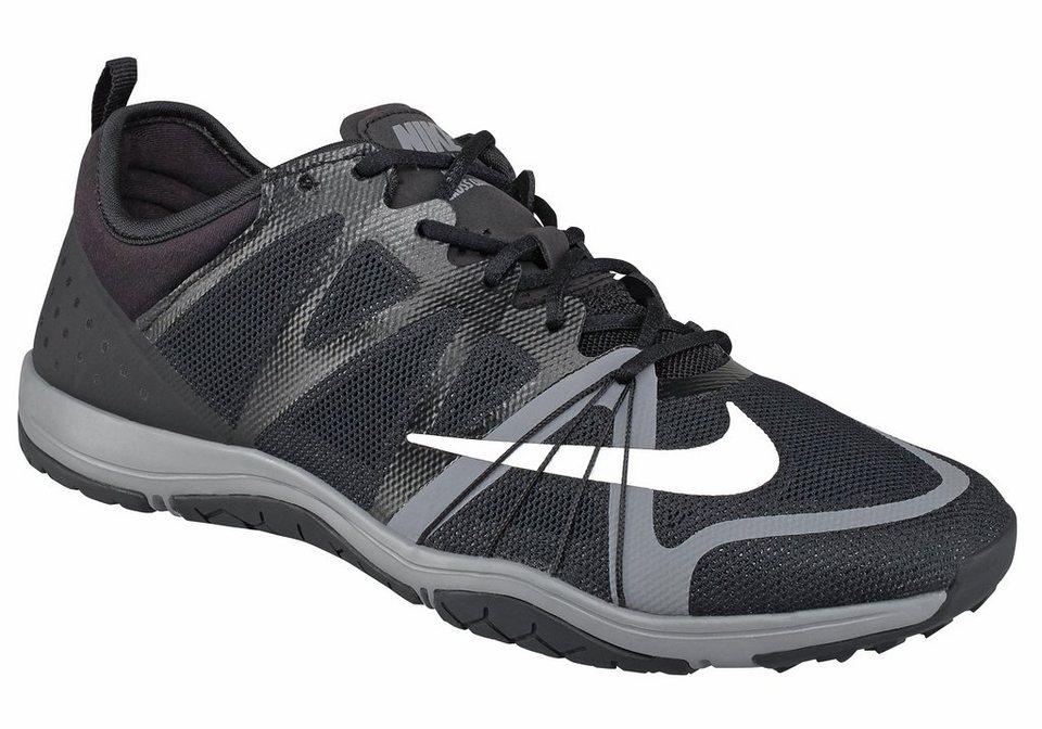 Nike Free Cross Compete Wmns Fitnessschuh in Schwarz-Weiß