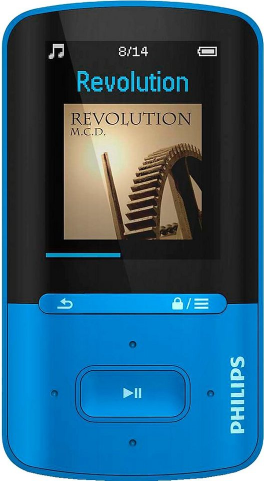 Philips SA4VBE04BN/12 MP3-Player in blau