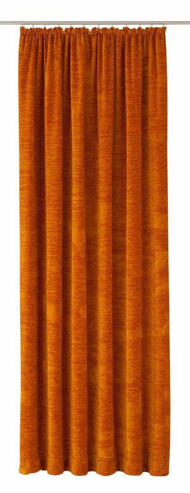 Vorhang, Wirth, (Thermo-Chenille) »B-Holmsund« 368g/qm (1 Stück) in altgold