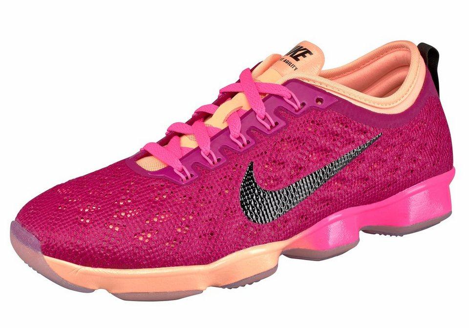 Nike Zoom Fit Agility Wmns Fitnessschuh in Fuchsia-Schwarz