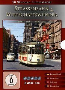 DVD »Straßenbahn & Wirtschaftswunder (5 Discs)«
