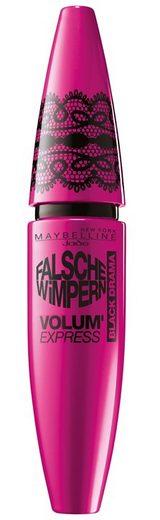 Maybelline New York, »Volum' Express Falsche Wimpern Black Drama«, Mascara