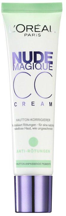 L'Oréal Paris, »Nude Magique CC Cream«, Anti-Rötungen Hautton-Korrigierer