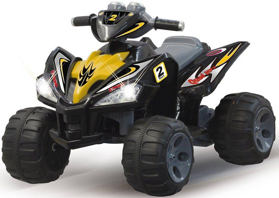 Elektro Kinderauto »Ride-On Quad« in schwarz