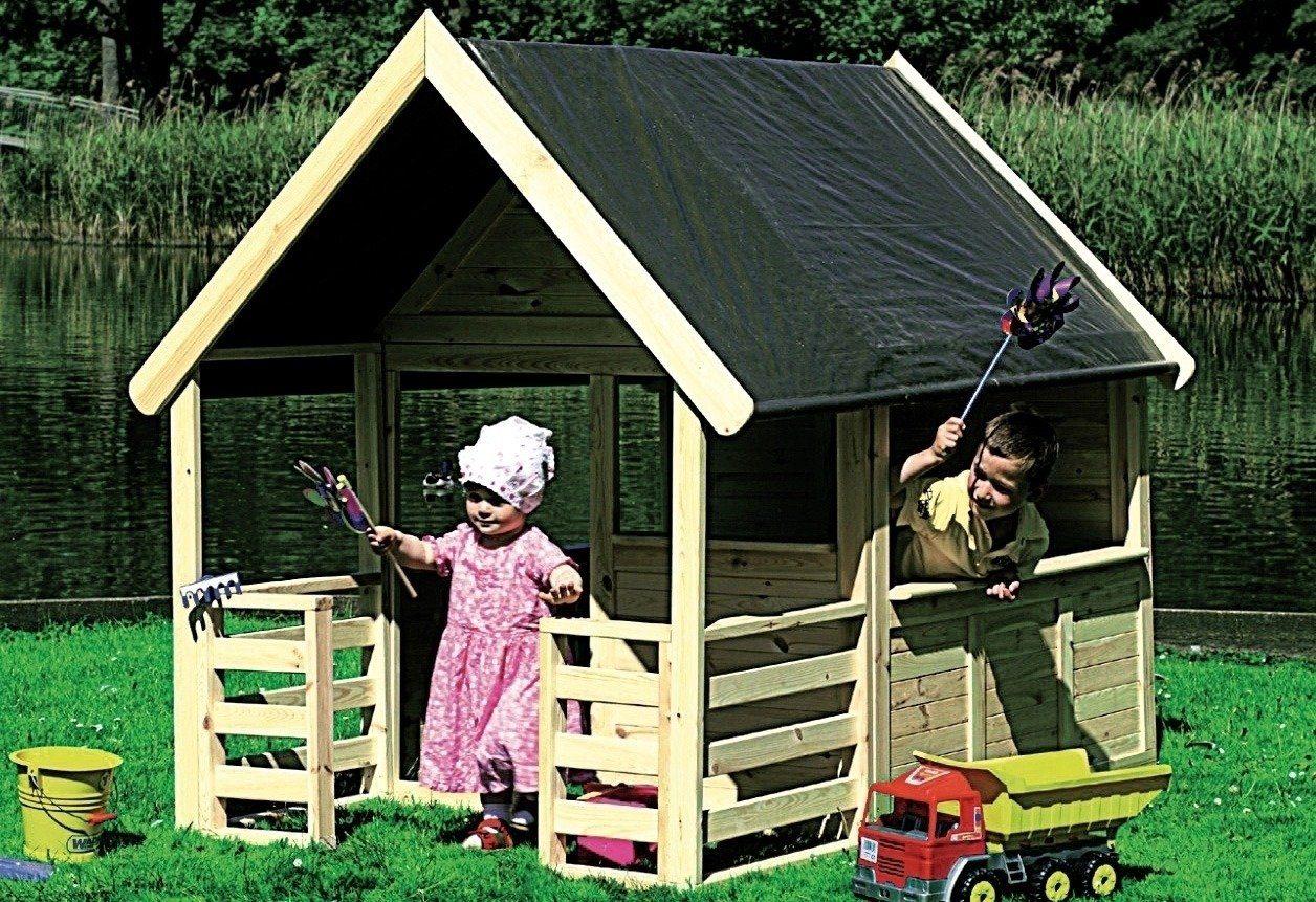 Spielhaus Mit Sommerküche Smoby : Promadino spielhaus moritz« online kaufen otto