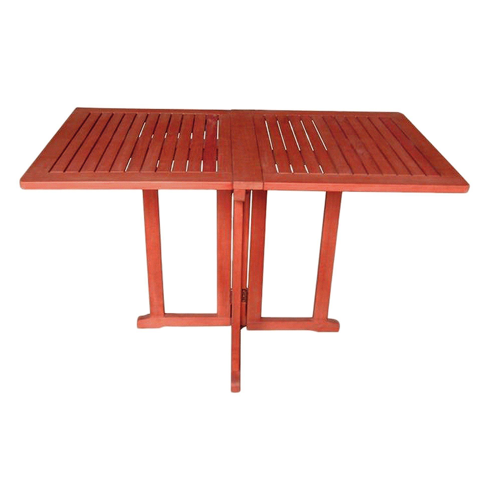 Gartentisch »Baltimore«, Eukalyptusholz, klappbar, 120x70 cm, braun