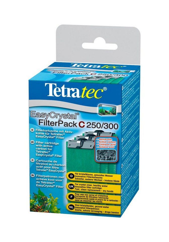 Filterkartusche »EasyCrystal®Filter Pack C 250/300 mit Aktivkohle« 2er Set in grau