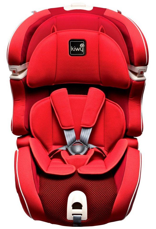 Kindersitz »SLF123«, 9 - 36 kg, mit Isofix in rot