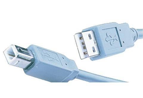 Hama USB-Druckerkabel in 1,8 m