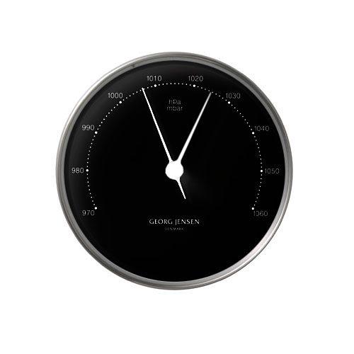 GEORG JENSEN Georg Jensen Barometer HENNING KOPPEL 10cm schwarz