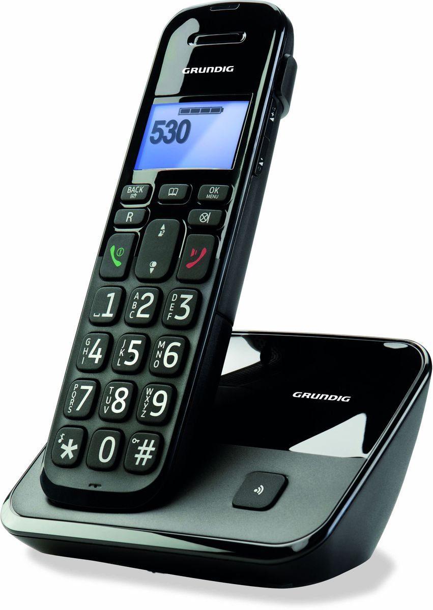 Grundig Telefon »D530 Schwarz«