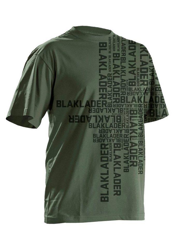 T-Shirt »9022« in olivfarben