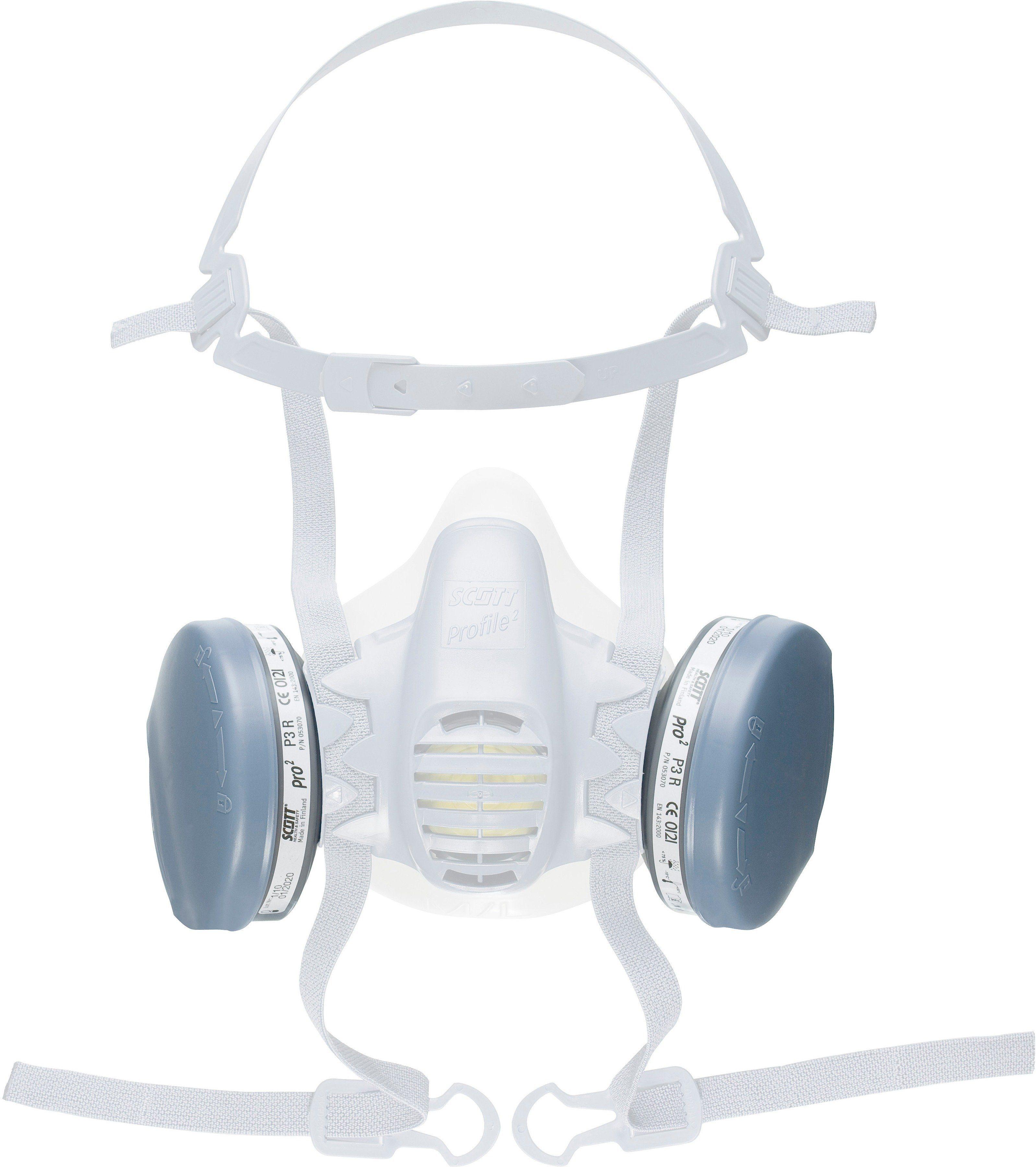 P3 R-Filter (weiß)